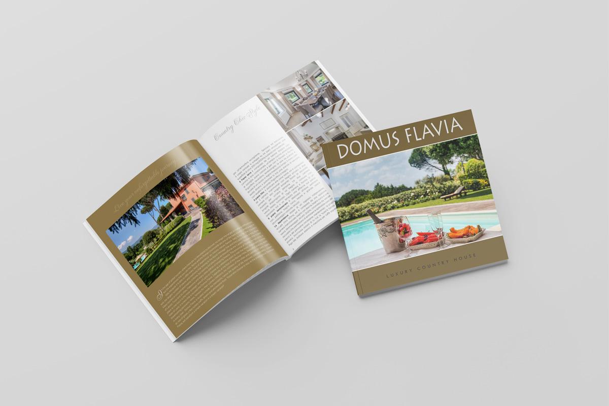 Brochure 24 pagine progetto grafico e Stampa
