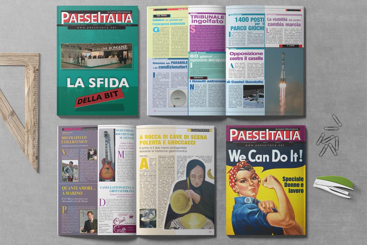 Impaginazione e idezione copertine indesign stampa