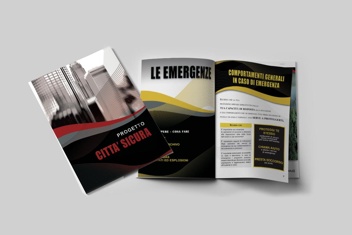 Brochure A5 48 pagine Stampa grafica e impaginazione