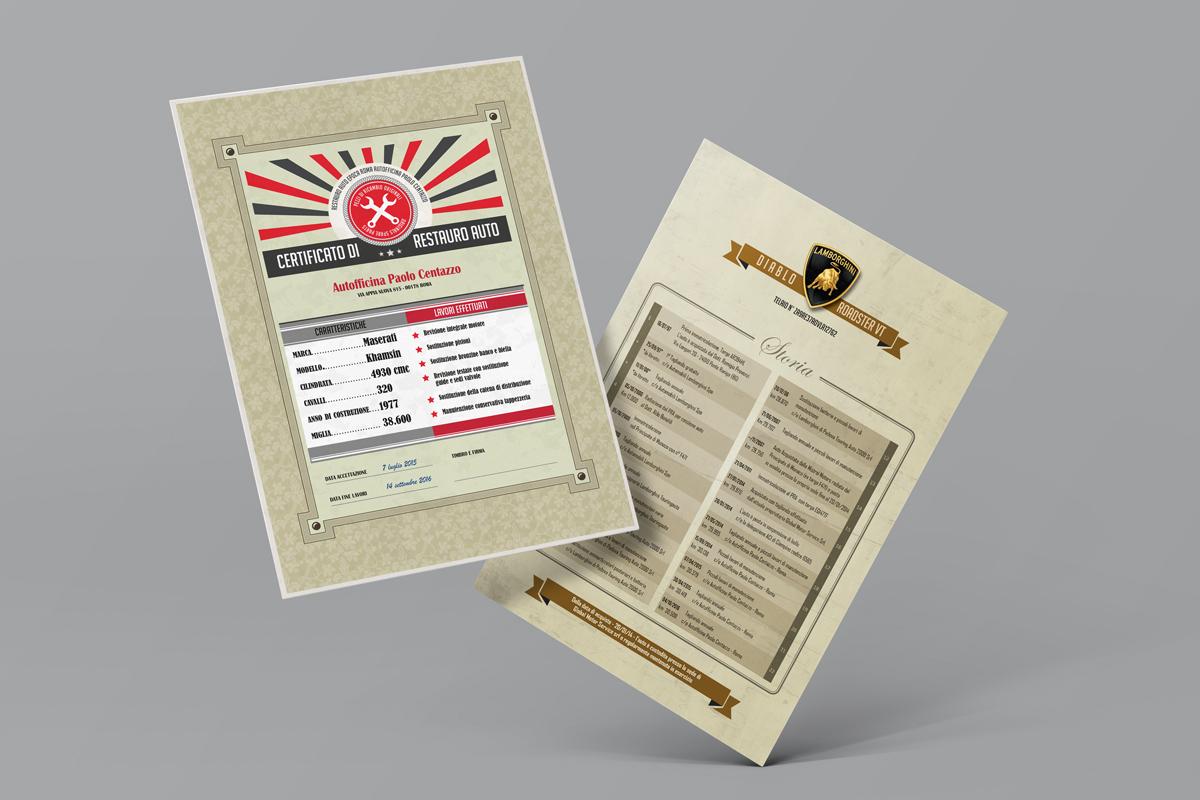 Schede infogafiche, logo, brochure graphic design