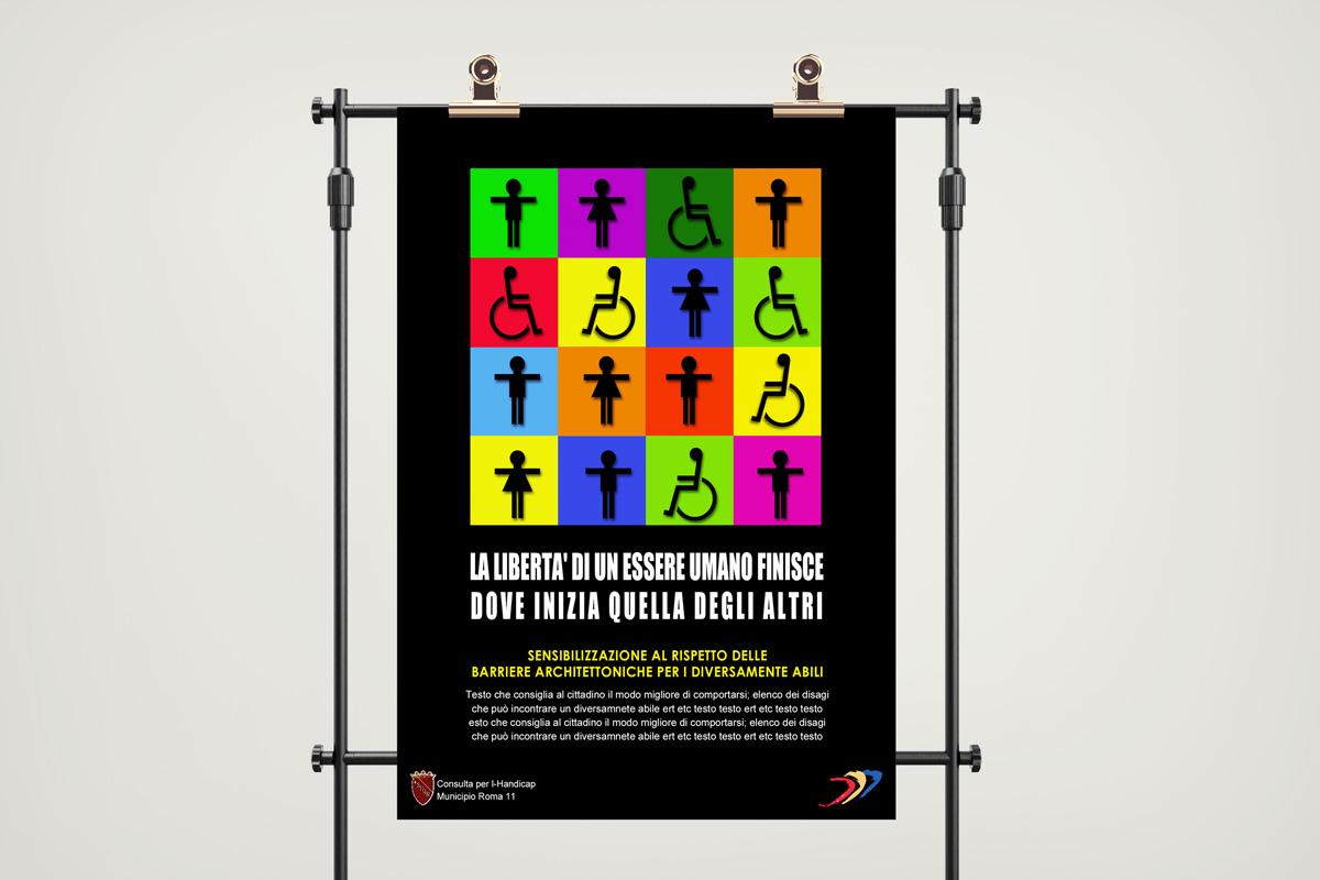 Graphic Design Poster Progetto Stampa
