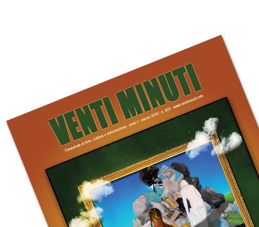 Ideazione Cover Testata mensile Magazine