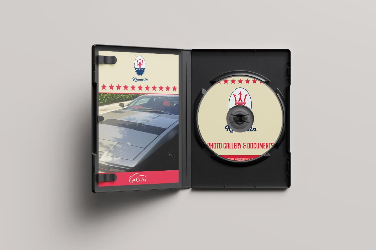 Graphic Design DVD e brand image