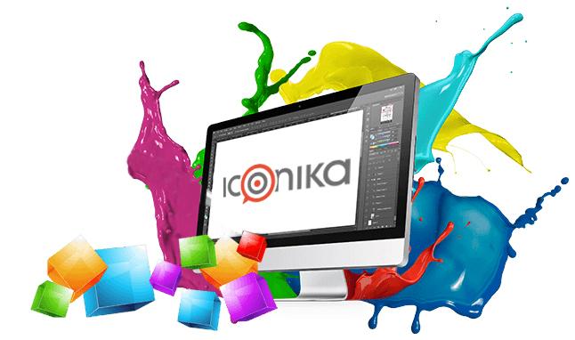 Iconika graphic design Roma